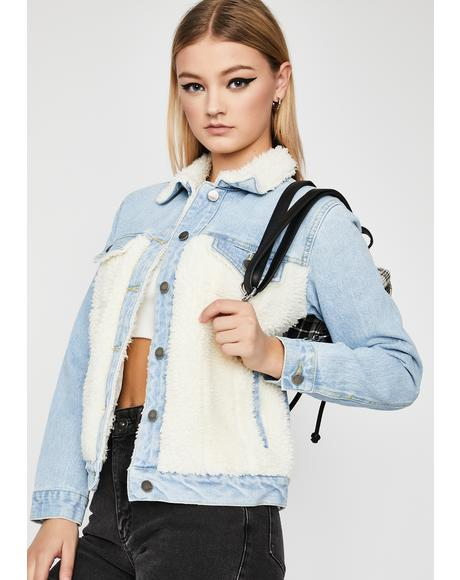 Tough Fluff Denim Jacket