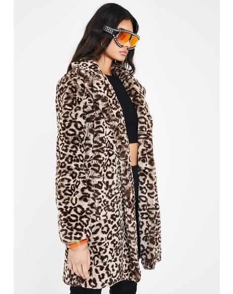 Meowie Wowie Faux Fur Coat