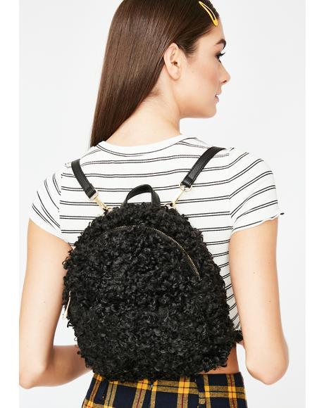 Furry Fetish Mini Backpack