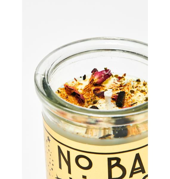 Little Shop of Oils No Bad Vibes Ritual Candle