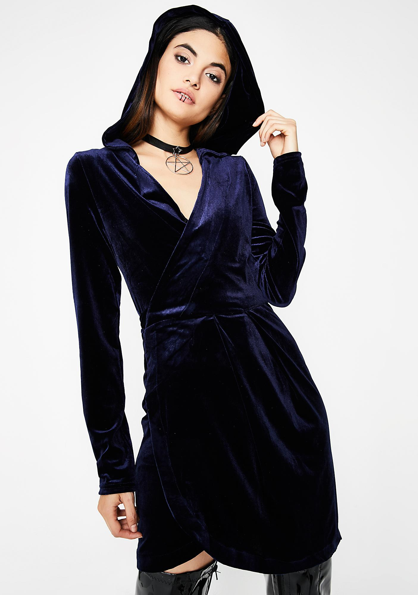Wicked Spells Velvet Dress