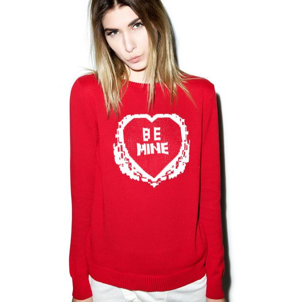 For Love & Lemons Be Mine Sweater