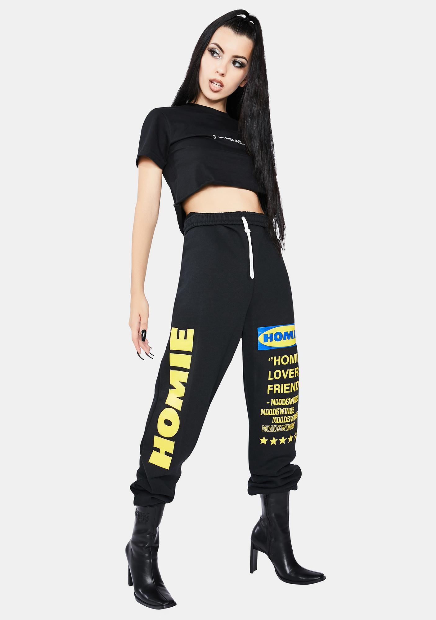 MOODSWINGS Onyx Homie Sweatpants