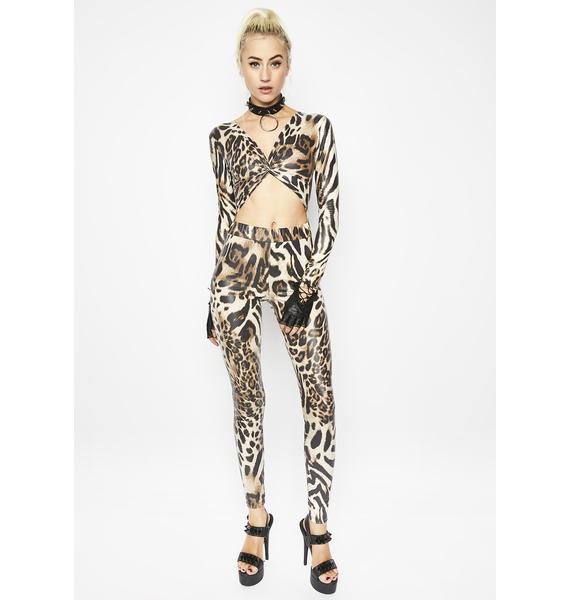 Get That Kitty Jumpsuit