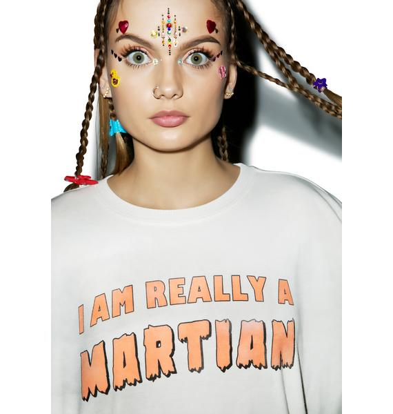 Wildfox Couture Really A Martian Oversized Sweater
