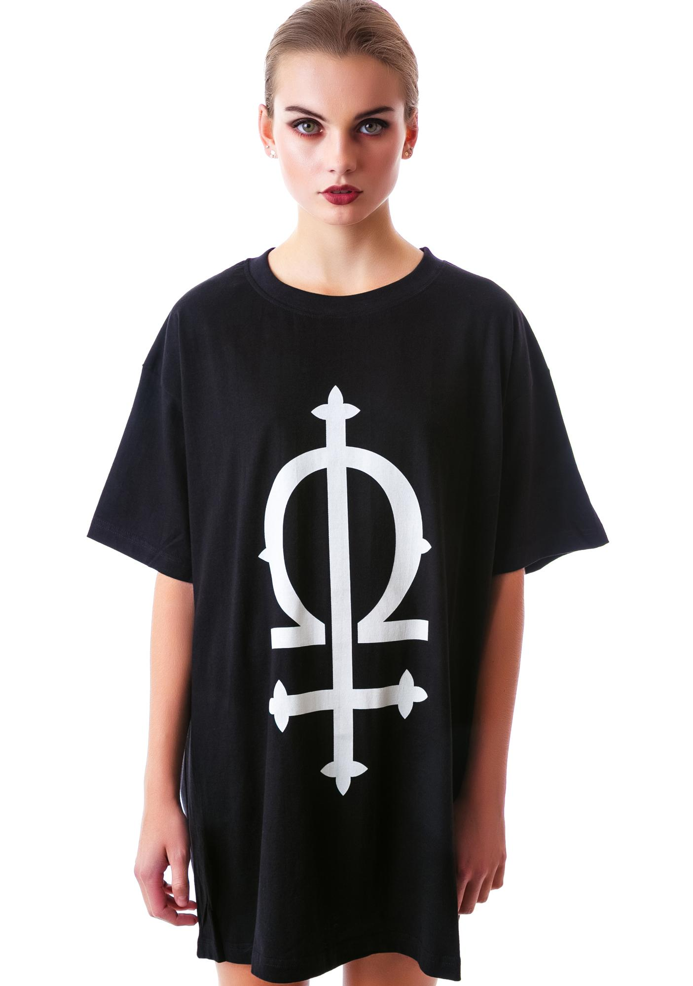Long Clothing Omega Oversized Tee