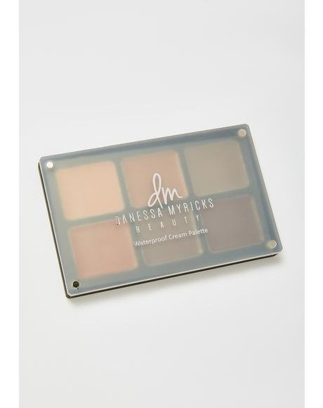 Essentials Waterproof Cream Palette