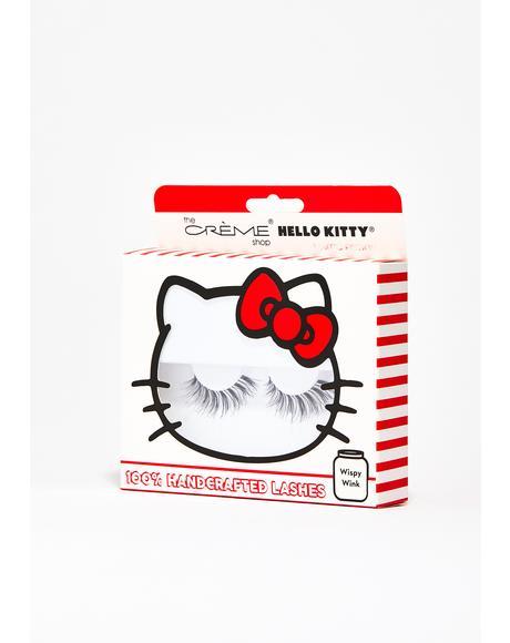 Wispy Wink Hello Kitty Lashes