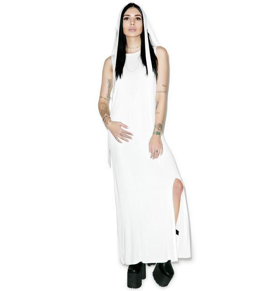 Black Scale Maiden Dress