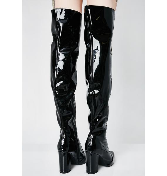 Catching Feelings Thigh High Boots