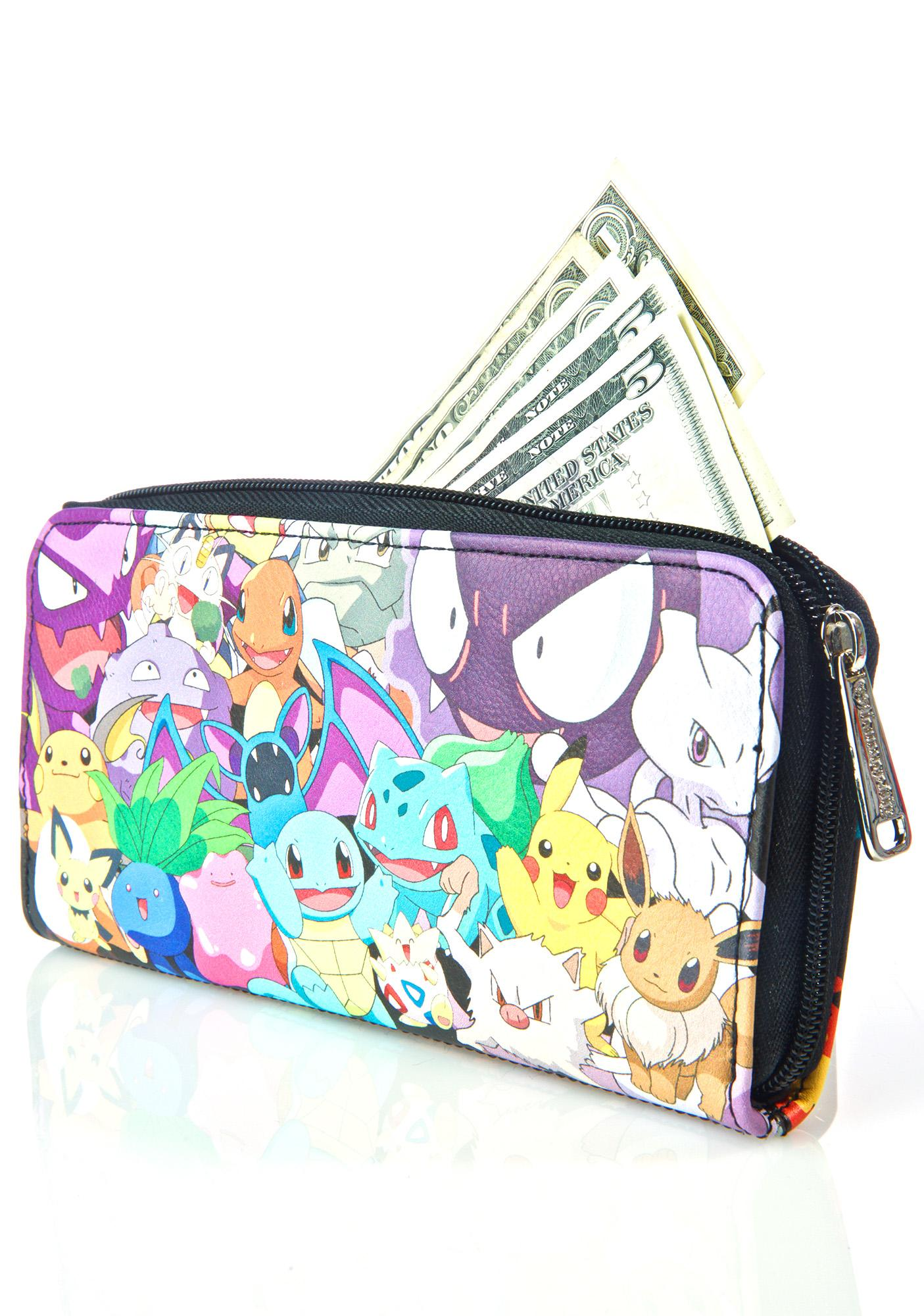 Loungefly X Pokemon Character Wallet
