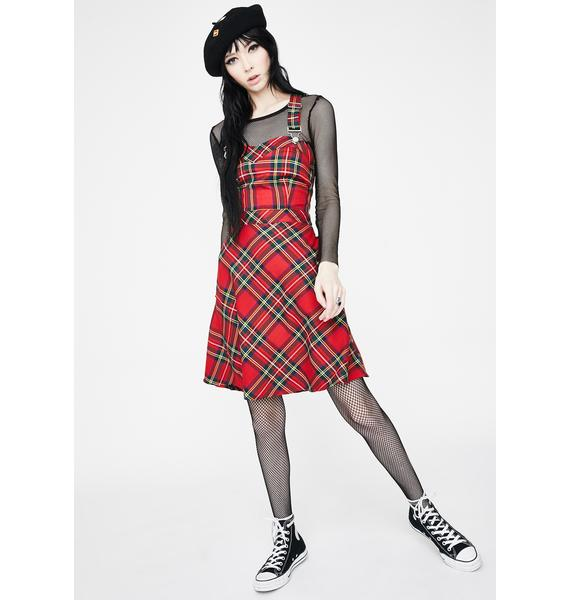 Jawbreaker Tartan Troublemaker Dress