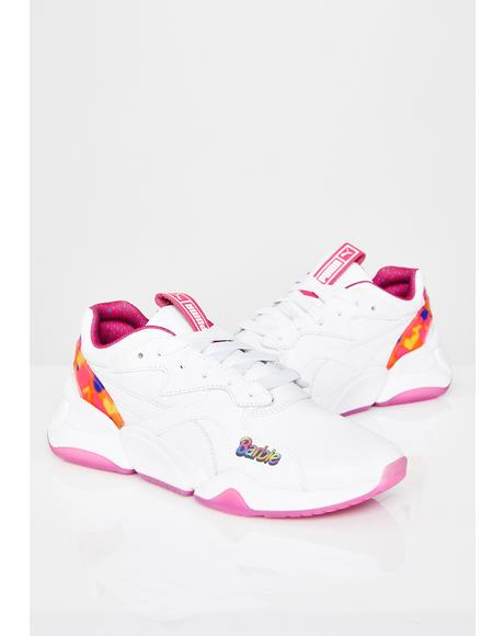 Nova x Barbie Flash Sneakers