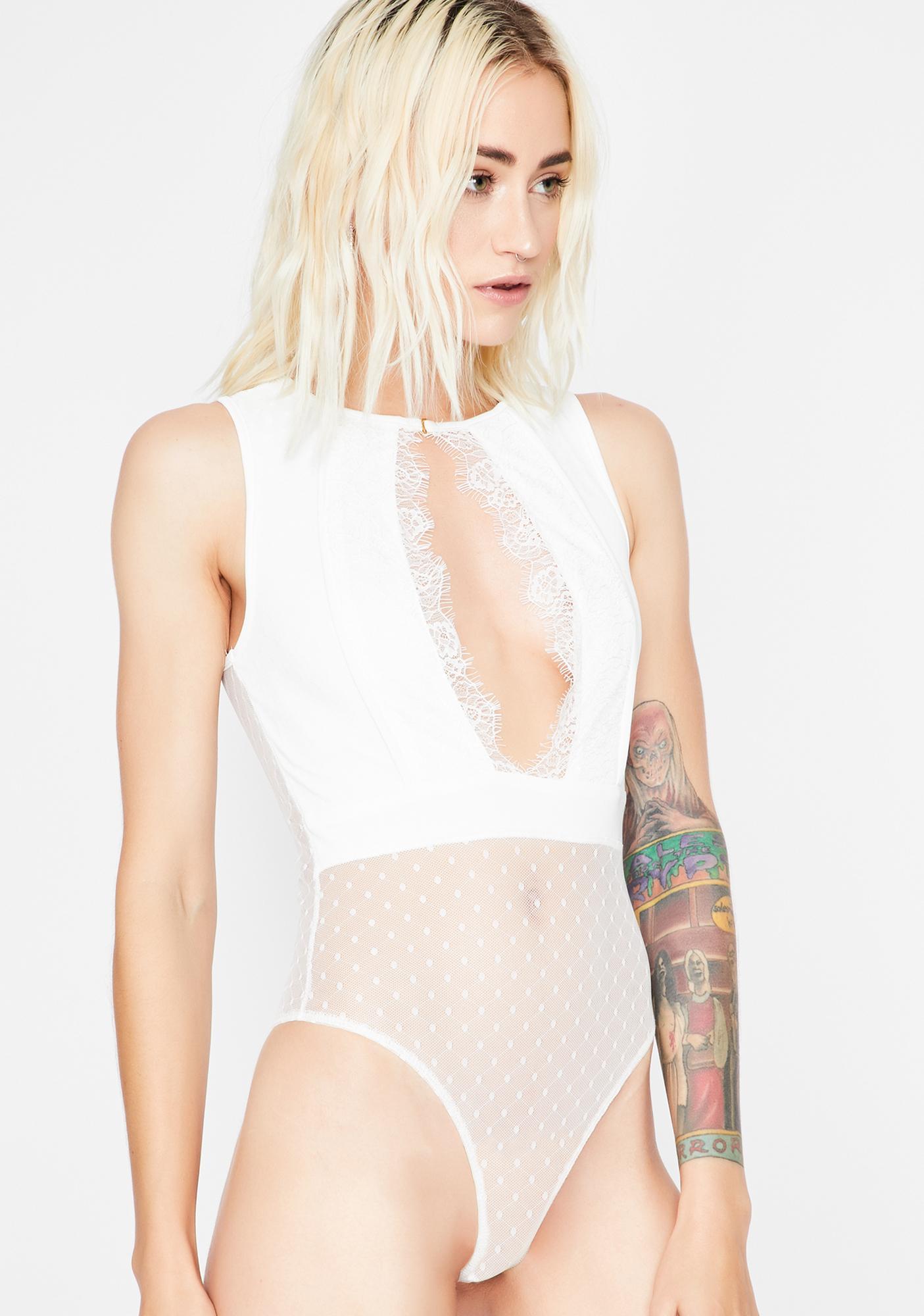 Angel Emotional Fling Cut-Out Bodysuit