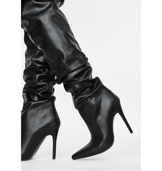 Public Desire  Impulse Over The Knee Boots