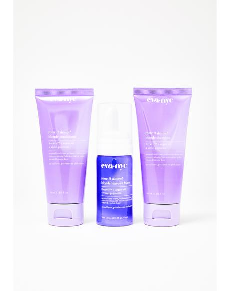 Smart Blonde Travel Set