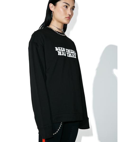 Cheap Monday Been There Victory Sweatshirt