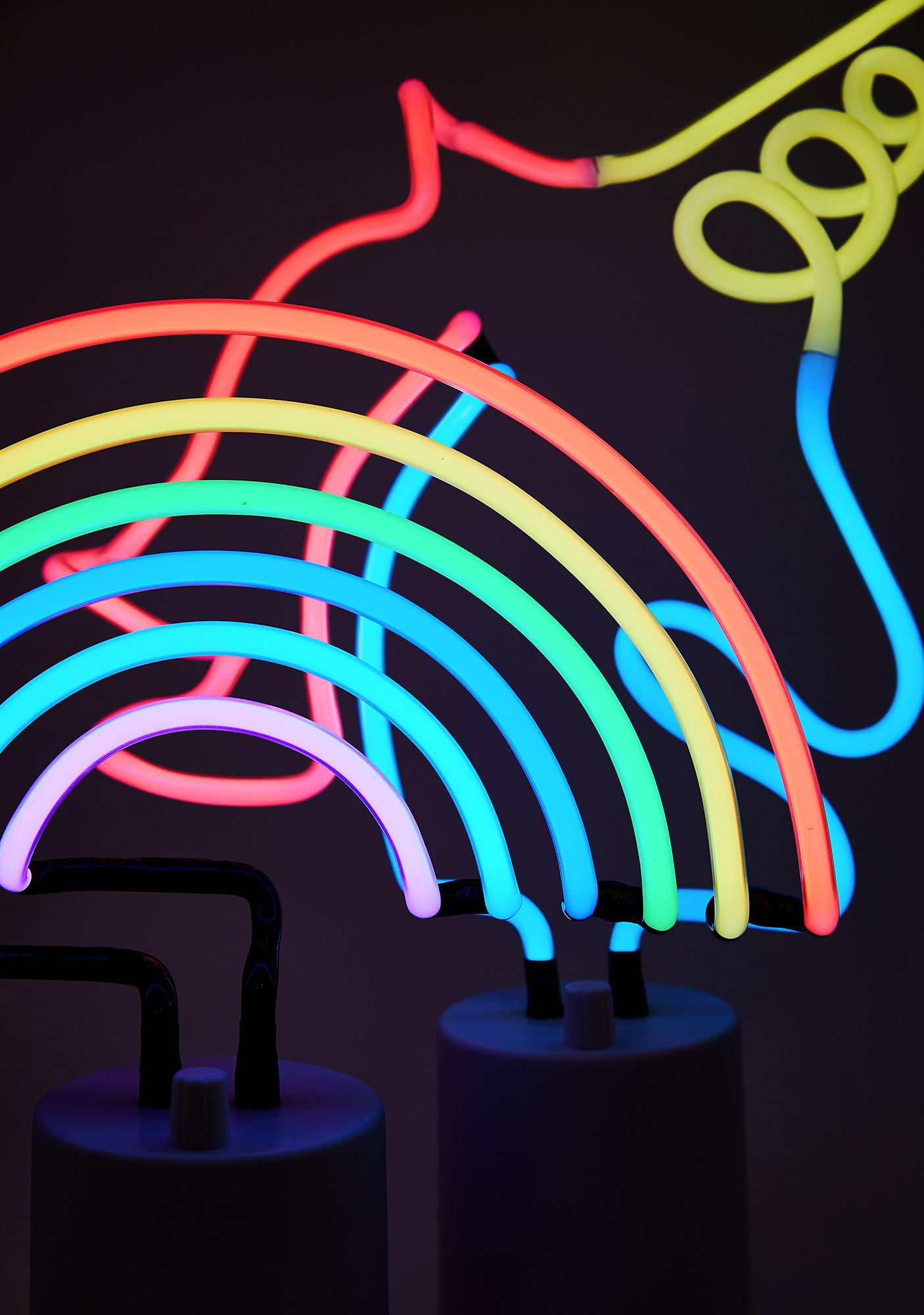 Rainbow Neon Light Large