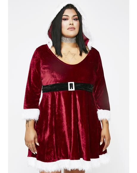 North Pole Babe Santa Costume