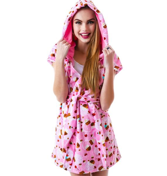 J Valentine Sweet Treat Cupcake Robe