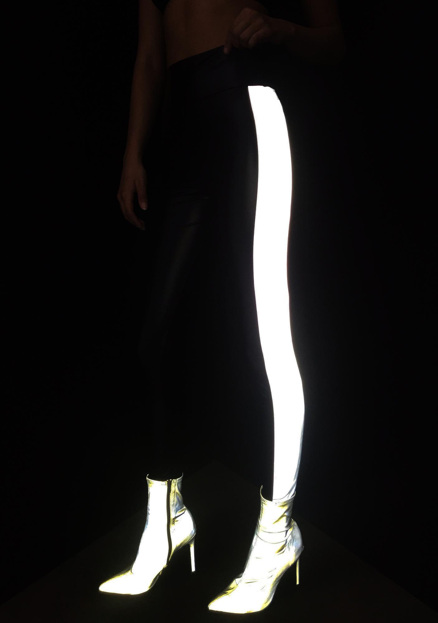 Slick Fusion Reflective Leggings