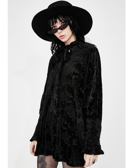 Isabella Velvet Tunic Dress