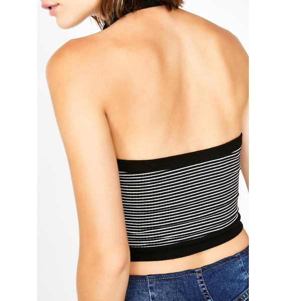 Sass Act Stripe Top