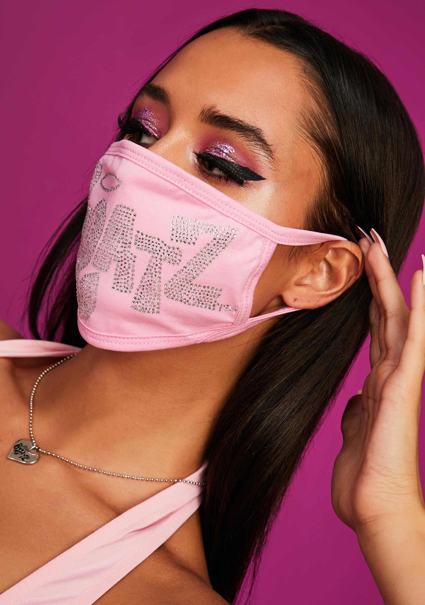 Dolls Kill x Bratz Keep It Glossy Rhinestone Face Mask