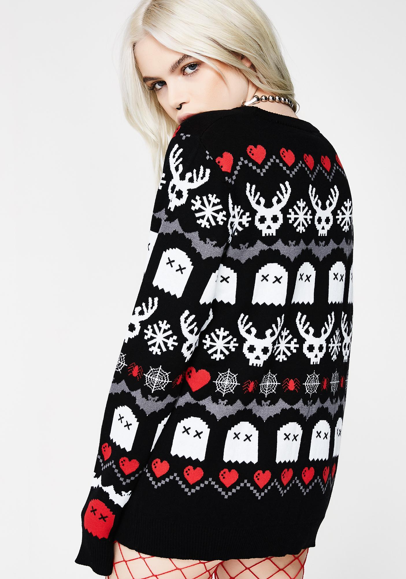 Too Fast Creepy Lil Sweater