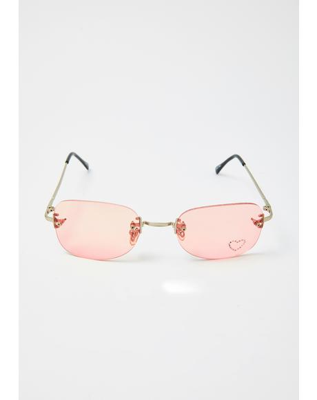 Hottness Oversized Sunglasses