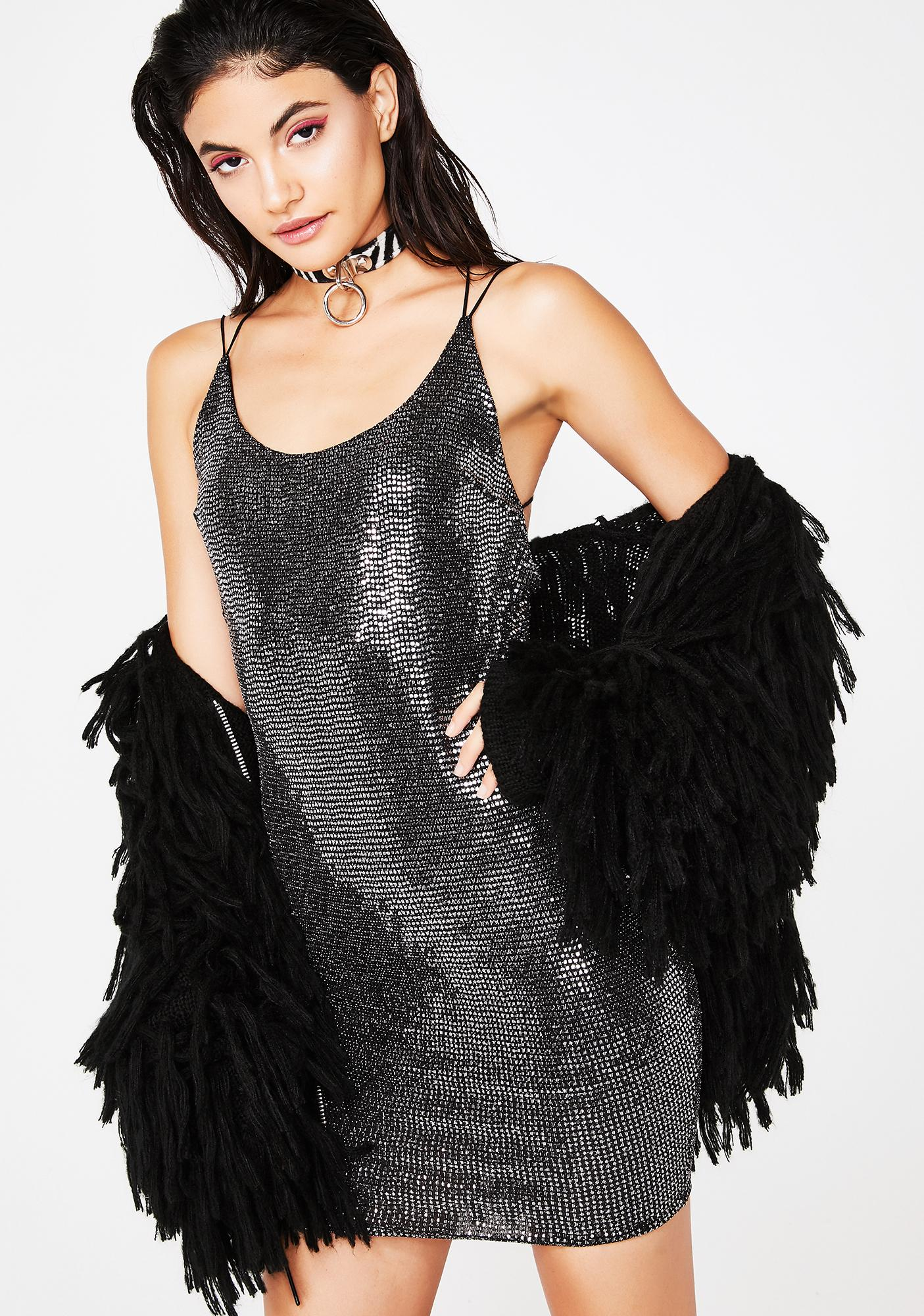 Party Don't Stop Mini Dress