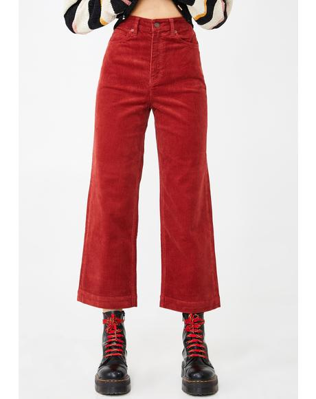 Oh My Cord Wide Leg Pants