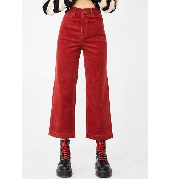 Volcom Oh My Cord Wide Leg Pants