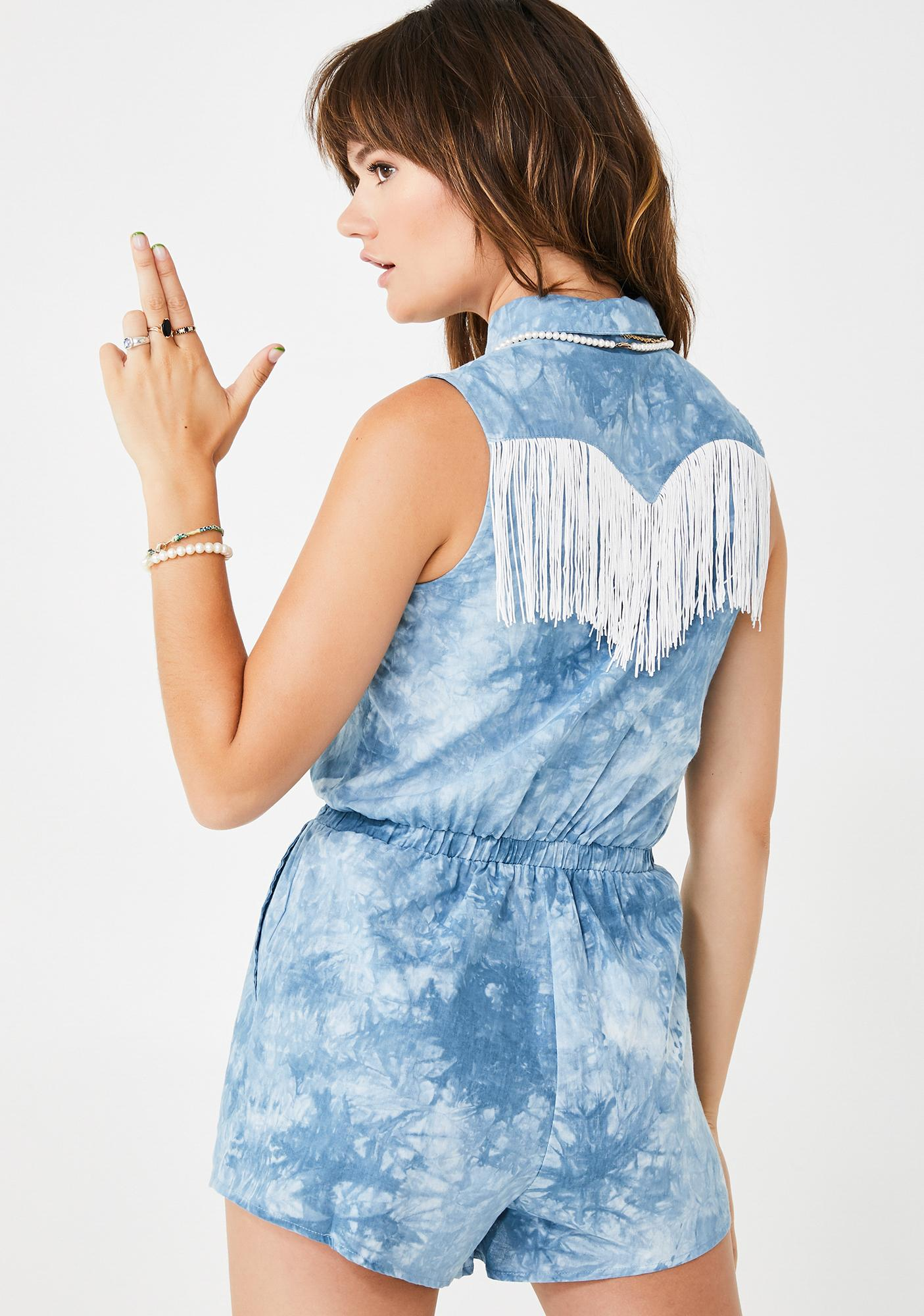 West Bae Denim Romper