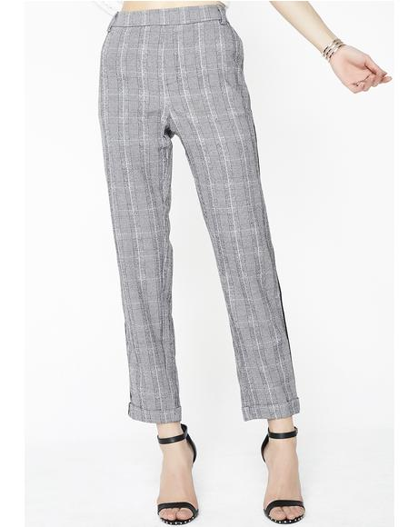 Teacher's Nightmare Plaid Trousers