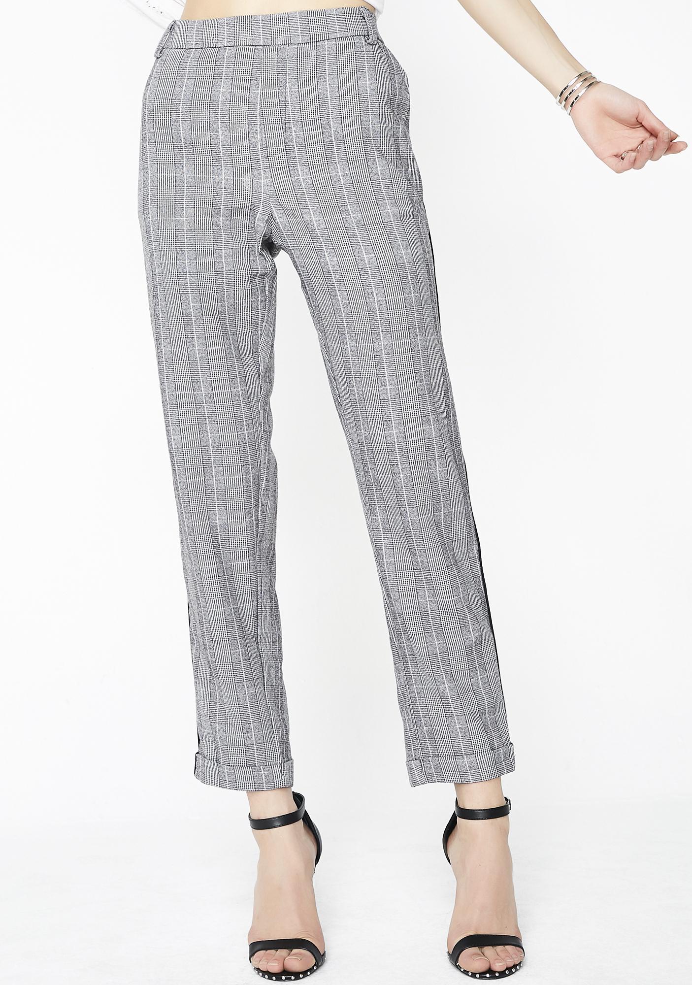 Teacher's Nightmare Plaid Trousers