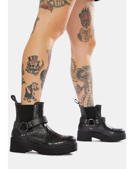 Make It Harness Boots