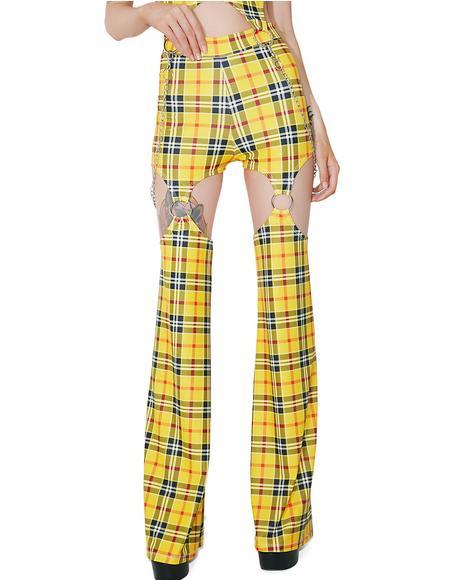School Gurl Riot Garter Pants
