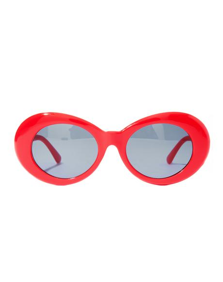 Cherry Nevermind Sunglasses