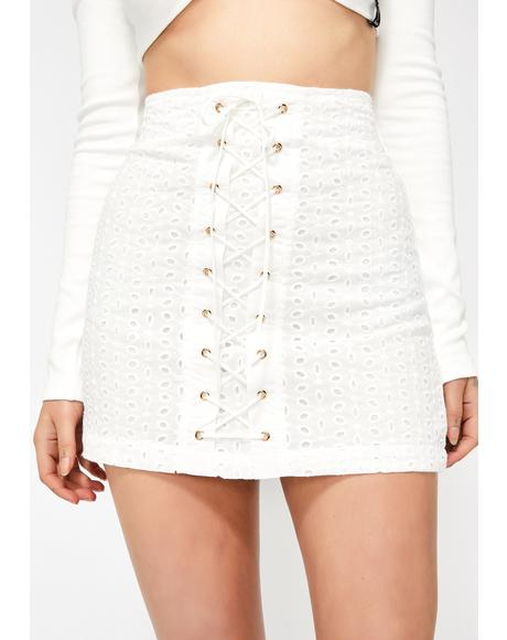 Spring Forward Mini Skirt