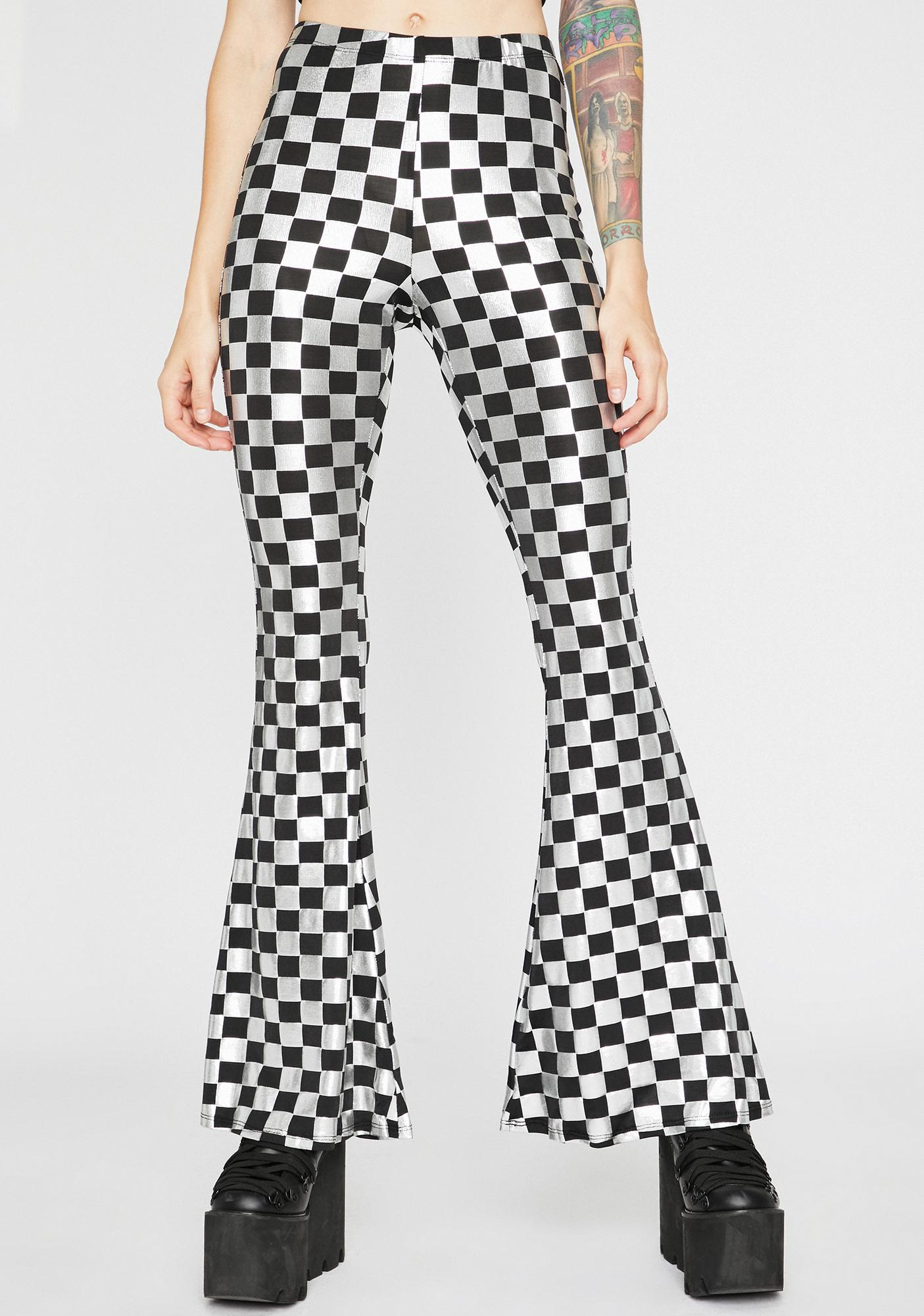 Moonstone Hippie Disco Flare Pants