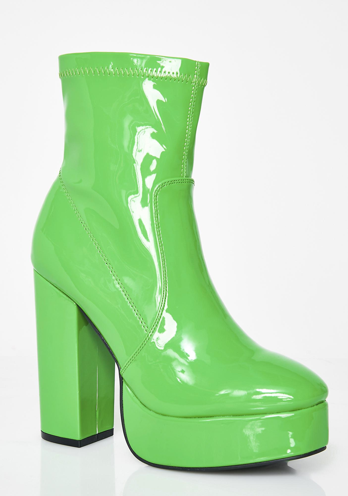 Current Mood Slime Booties
