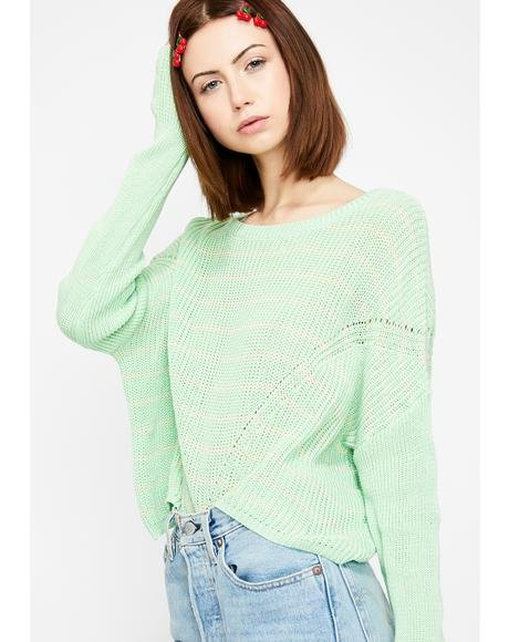 Cuddle N' Chill Knit Sweater