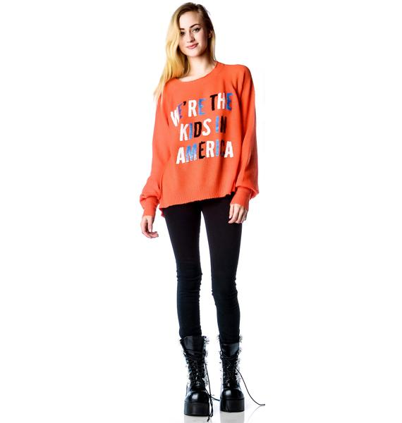 Wildfox Couture American Kids Pfeiffer Sweater