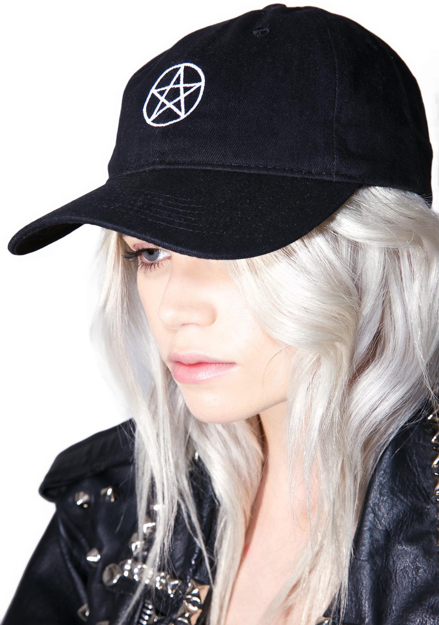 Pentagram Dad Hat