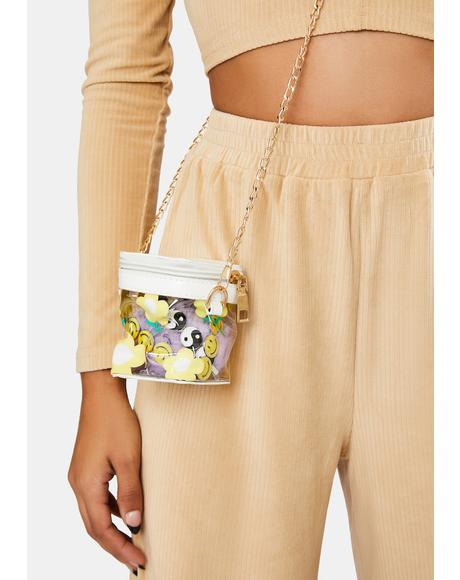 Drivin' Daisy Crossbody Bag