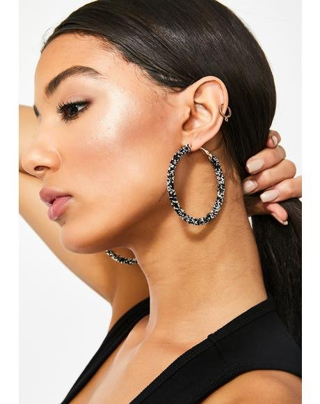 I'm So Rich Hoop Earrings