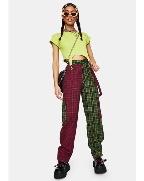 Goof Plaid Cargo Pants