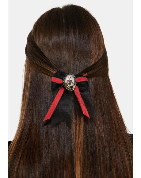 Dominatrix Hair Bow