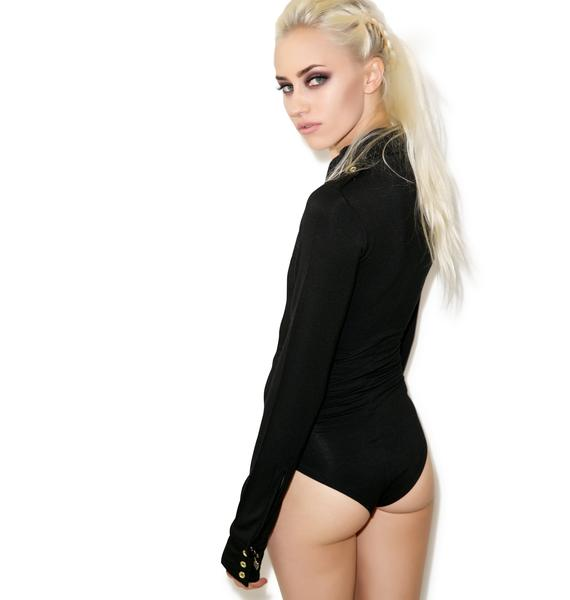 One Teaspoon Tuxedo Bodysuit